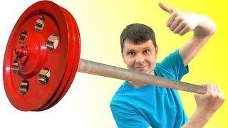 🌑 АНТИГРАВИТАЦИЯ ПОМОГИ!  Гравилёт гироскоп 4000 об/мин.:) Anti-Gravity Wheel  Игорь Белецкий
