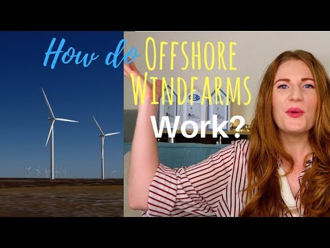 How do offshore wind farms work!? And how is all the electricity sent to our homes?