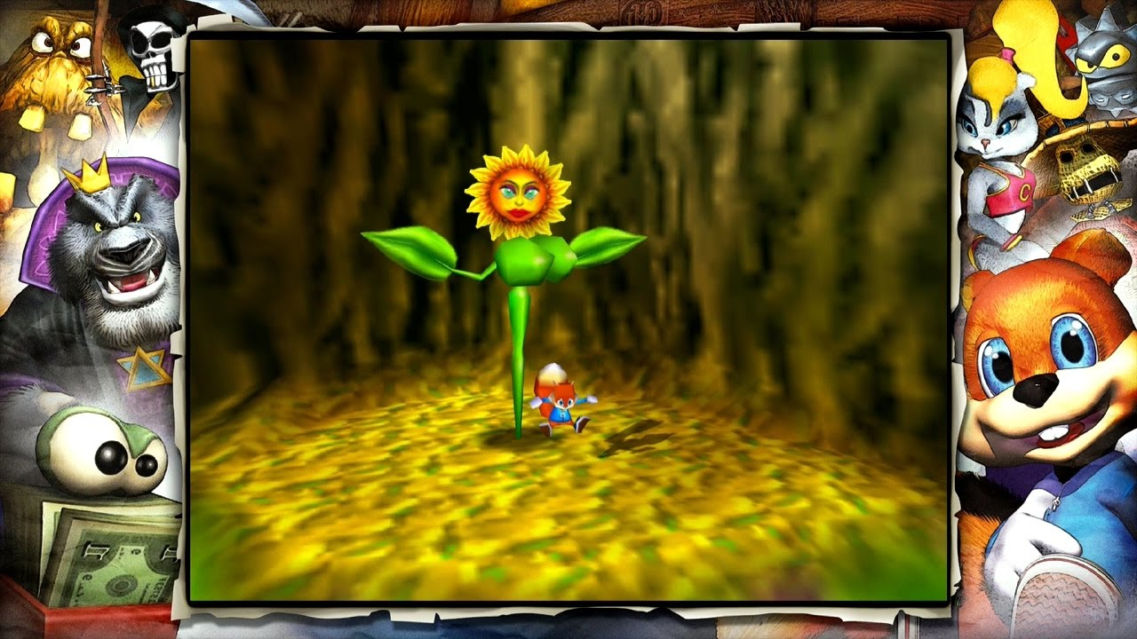 Conker S Bad Fur Day