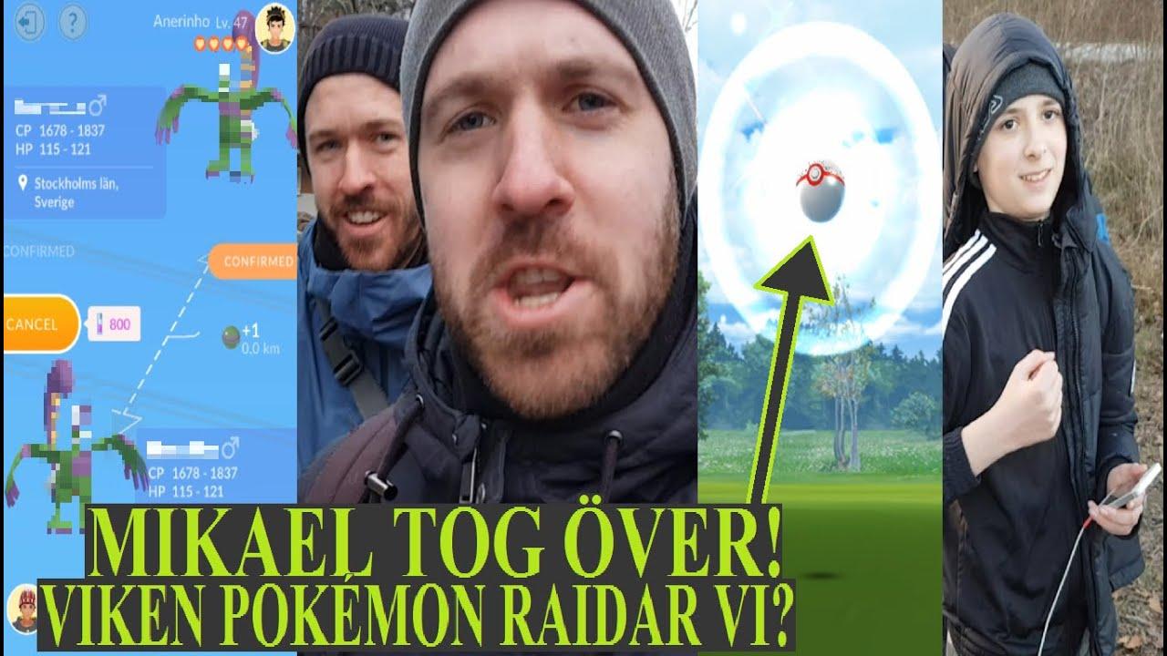Pokémon GO på Svenska | MIKAEL TOG ÖVER! | VILKEN POKÉMON RAIDAR & TRADAR VI?| Johans Pokemon GO