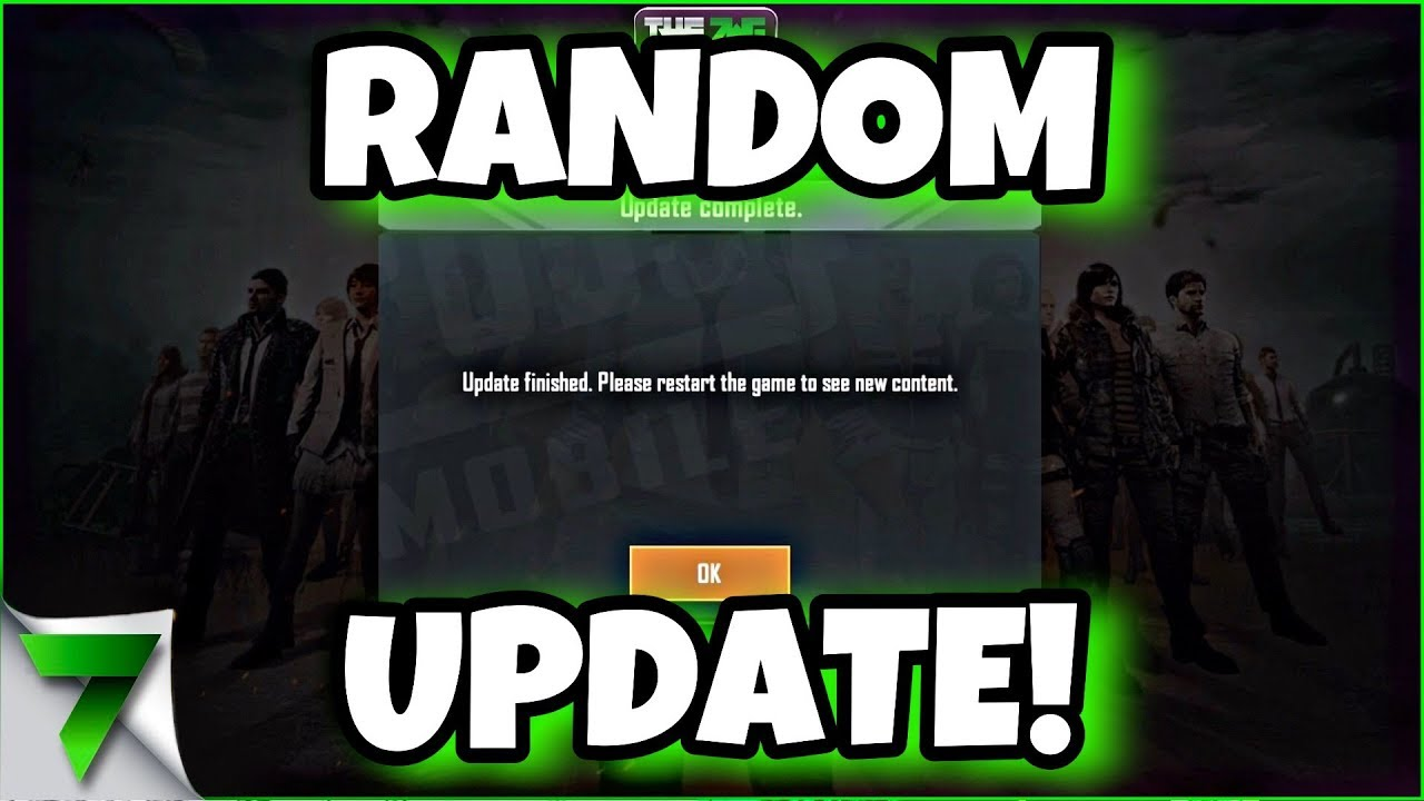 NEW RANDOM UPDATE! WHATS NEW! LUCKY CRATE OPENING! | PUBG MOBILE