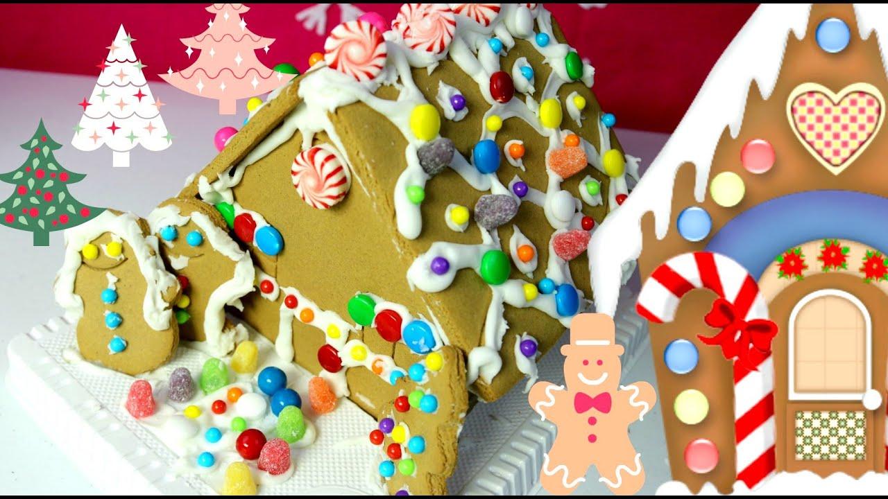 Decoramos la casita de jengibre casita de navidad - Casa de jengibre ikea ...
