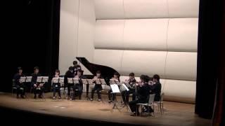 """Trumpet Ensemble""""liberta"""" 2nd concertより 運命の力より「序曲」. arr..."""