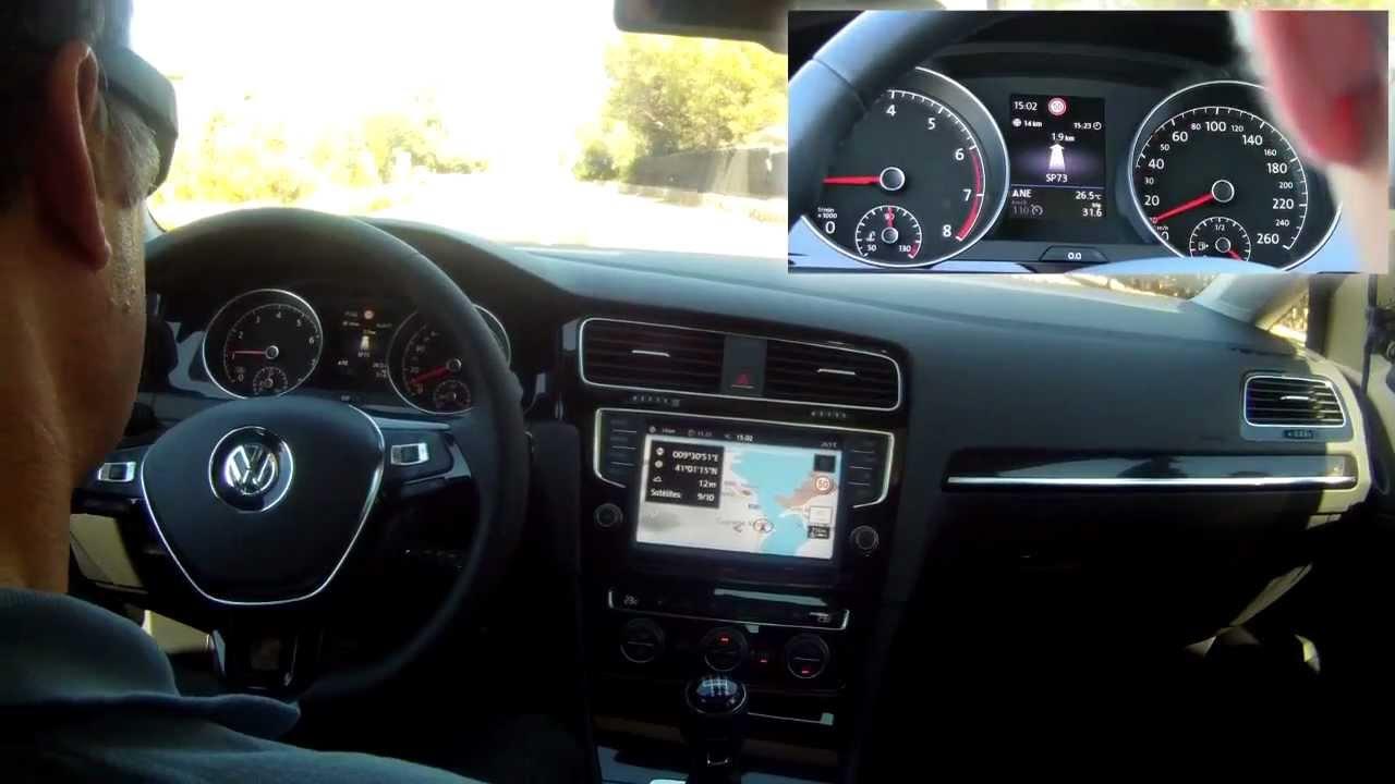 Volkswagen Golf 7 (2013) Freno de mano eléctrico - YouTube