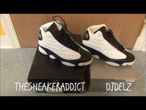 Original 1997 VS 2013 Retro Air Jordan He Got Game 13 XIII Sneaker Comparison Review With @DjDelz