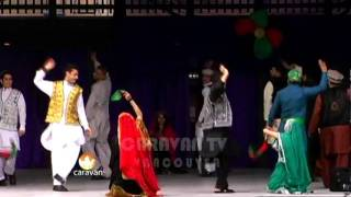 Attan by Afghan students, Canada Sep 2011 (boys & girls)