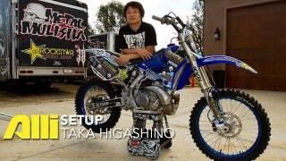 Taka Higashino Bike Check - Alli FMX Setup