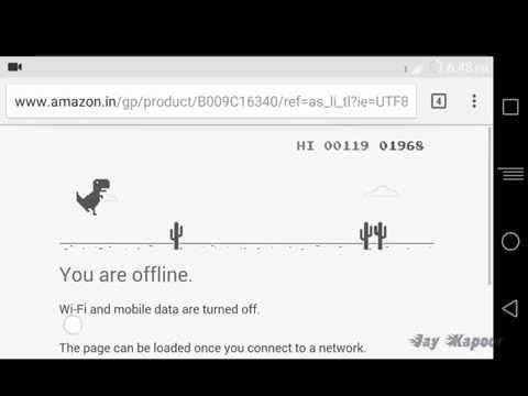 Addictive Hidden Game In Google Chrome|T-rex dinosaur Runner|Google Chrome Easter Egg
