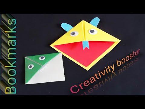 Paper bookmarks#DIY#Fun