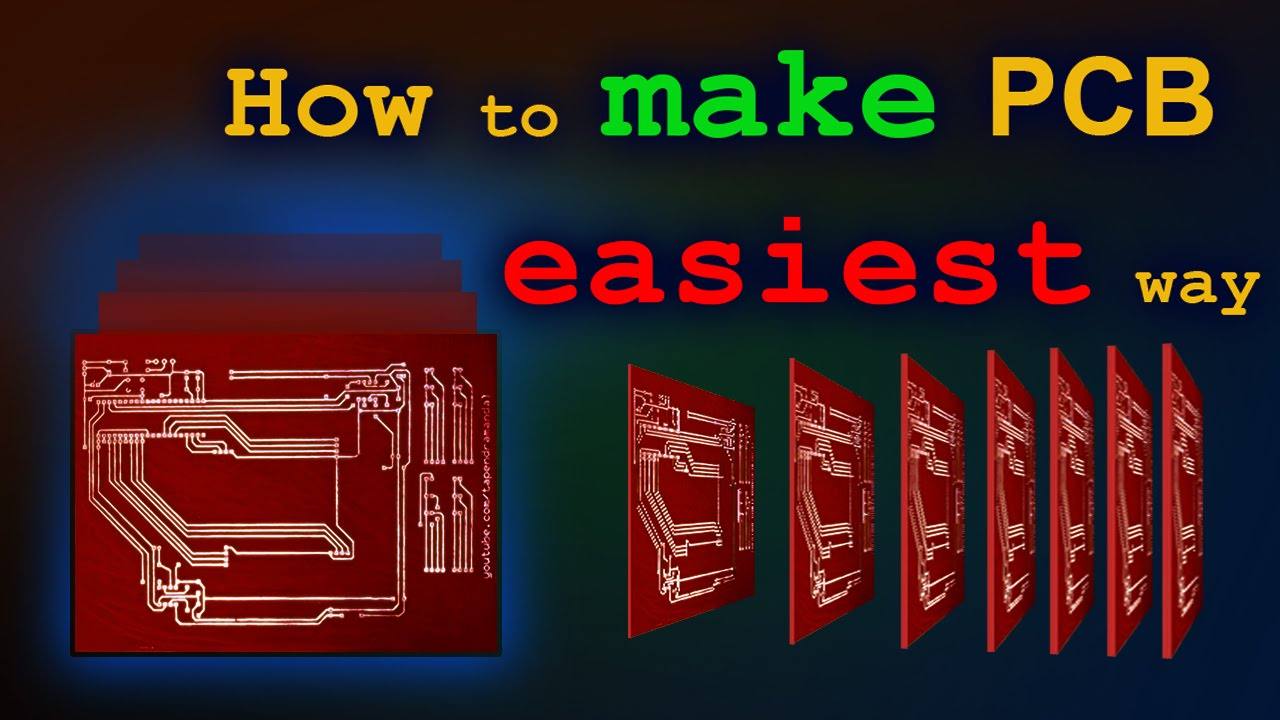 How To Make Pcb At Home Easiest Way Youtube Laser Cutting Circuit Boards