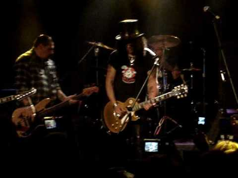 Slash (with Aces n Eights) at the Whiskey ~ Leaving Trunk