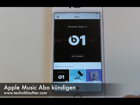 Apple Music Abo kündigen