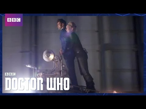 Escape from the Water Zombies - Doctor Who - The Waters of Mars - BBC