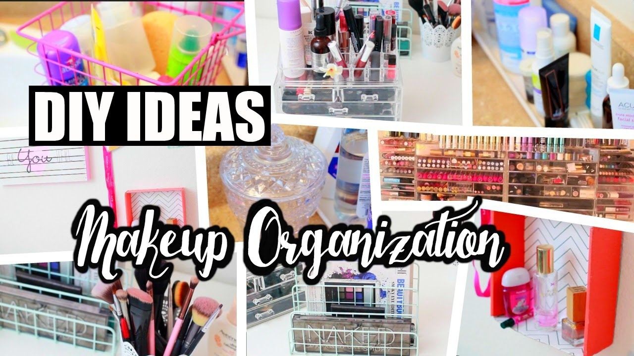 11 Cheap DIY Makeup Organization & Storage Ideas!  NeonRouge11