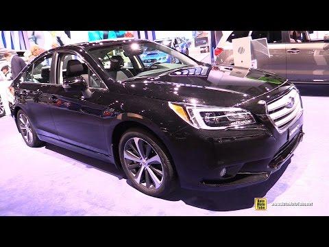 2017 Subaru Legacy 3.6R Limited - Exterior And Interior Walkaround - 2017 Detroit Auto Show