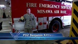 1st year as an Air Force Firefighter