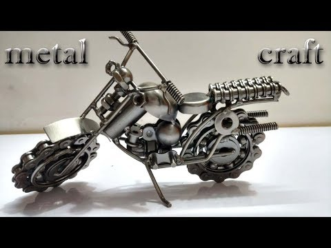 metal craft handmade motorcycle review(unboxing)