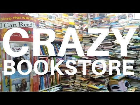 Crazy, Cluttered Bookstore: Blossom Book House | Bangalore, India