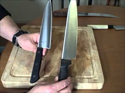 good kitchen knives power grommet best the 5 basic culinary knife grinds youtube