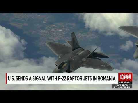 US Sends F-22 Warplanes To Romania