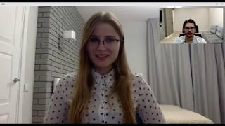 Пример вводного урока в онлайн-школе немецкого языка SpeakStarter