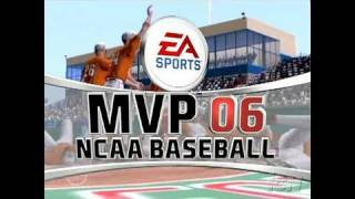 MVP 06 NCAA Baseball PlayStation 2 Gameplay - Season Mode: