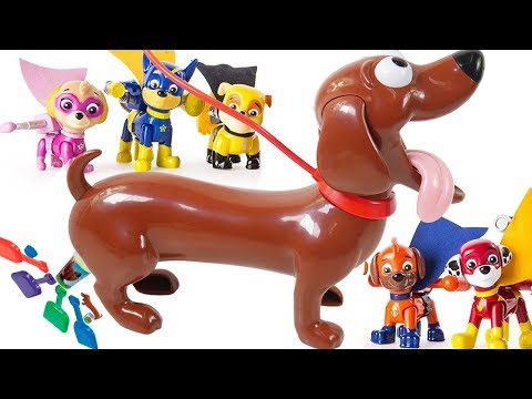 doggy game with paw patrol