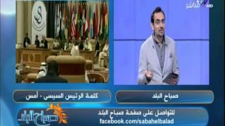 رشا وأحمد مجدي عن كلمة السيسي في