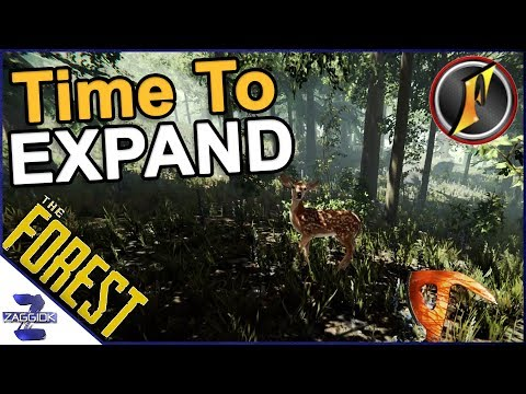The Forest with Flinter - Time To Expand the Base