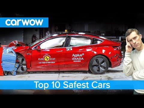 Tesla Model 3 crashed and the top 10 safest cars revealed!