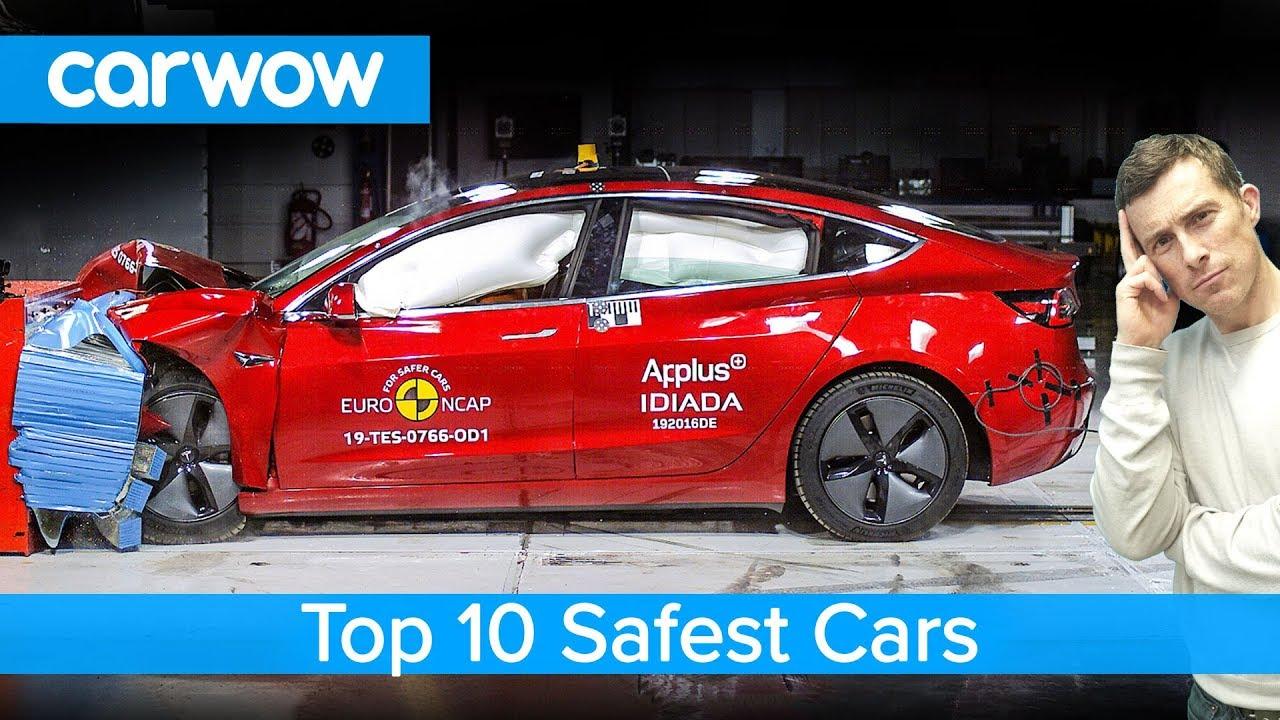 Top 10 SAFEST cars of 2019 - including the Tesla Model 3!