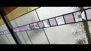 Семи метровое витражное окно