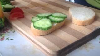 как сделать вкуснейший сэндвич №3