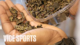 The Football Player Who Eats Bugs for Dinner