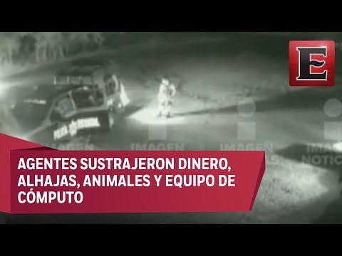 Suspenden a 15 policías de Oaxaca acusados de robar un rancho
