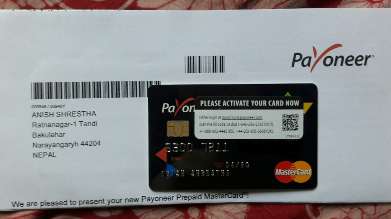 Activate New Payoneer Card Free Download Programs Vrtube