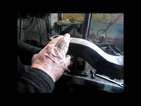 Ремонт шкворни на балке Mercedes