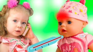 Miss Polly Had a Dolly song. Kids song about Polly. Miss Polly song Nursery Rhymes by Sasha