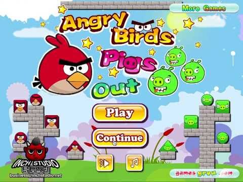 Angry Birds Pigs Out - Bad Piggies MIX! FREE ONLINE Mini Game Levels 1-14 1 To 14 Walkthrough