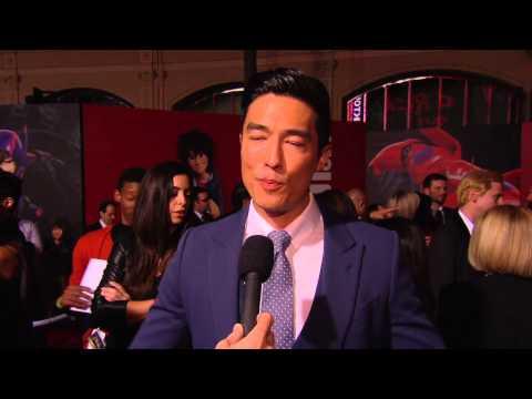 "Big Hero 6: Daniel Henney ""Tadashi"" Red Carpet Movie Interview"