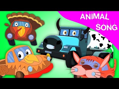 Tier klingen Lied | Bildungs Video | German Rhymes | Animal Sound Song