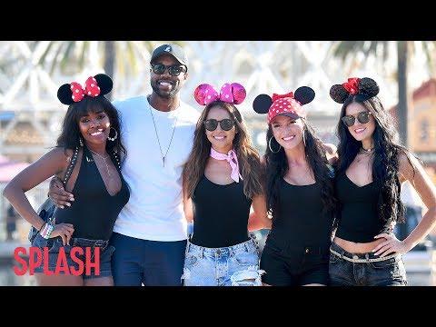 DeMario Jackson Takes Four Co-stars to Disneyland | Splash News TV