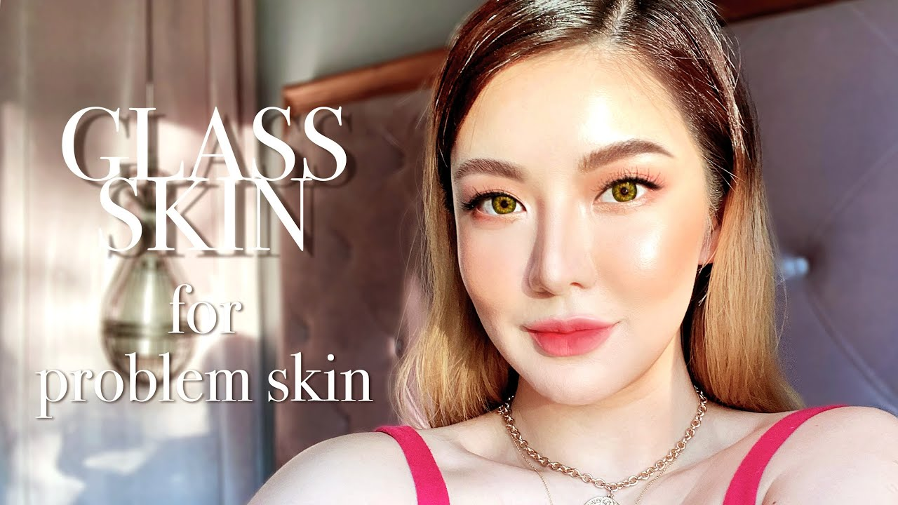 Glass Skin Tutorial + Tips for Acne & Textured Skin⎮Emily Quak