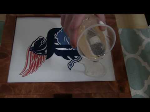 How-To: Creating Wall Art with EPOXY (Super Glaze)