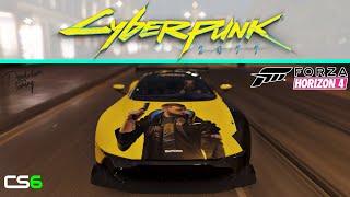 Cyberpunk 2077 Meets Forza Horizon 4 - Aston Martin Vulcan Paint