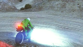 EXTREME BIKE OFFROADING! (GTA 5 Funny Moments)