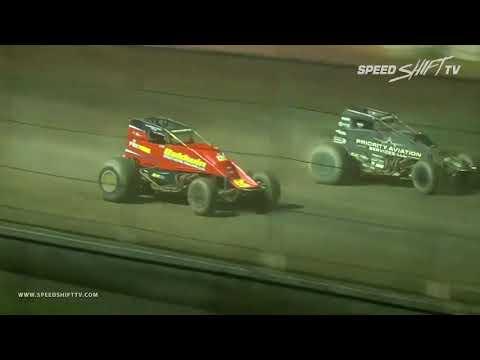 "USAC ""Eastern Storm"" Highlights | Bridgeport Speedway 6.18.18"