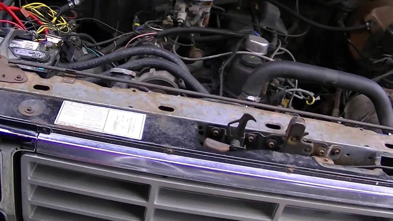 1986 F 150 3g Alternator Upgrade Youtube 84 F150 5l Wiring Diagram