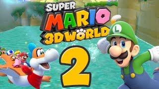 Let's Play Super Mario 3D World Part 2: Plantschen mit Plessie und Luigi