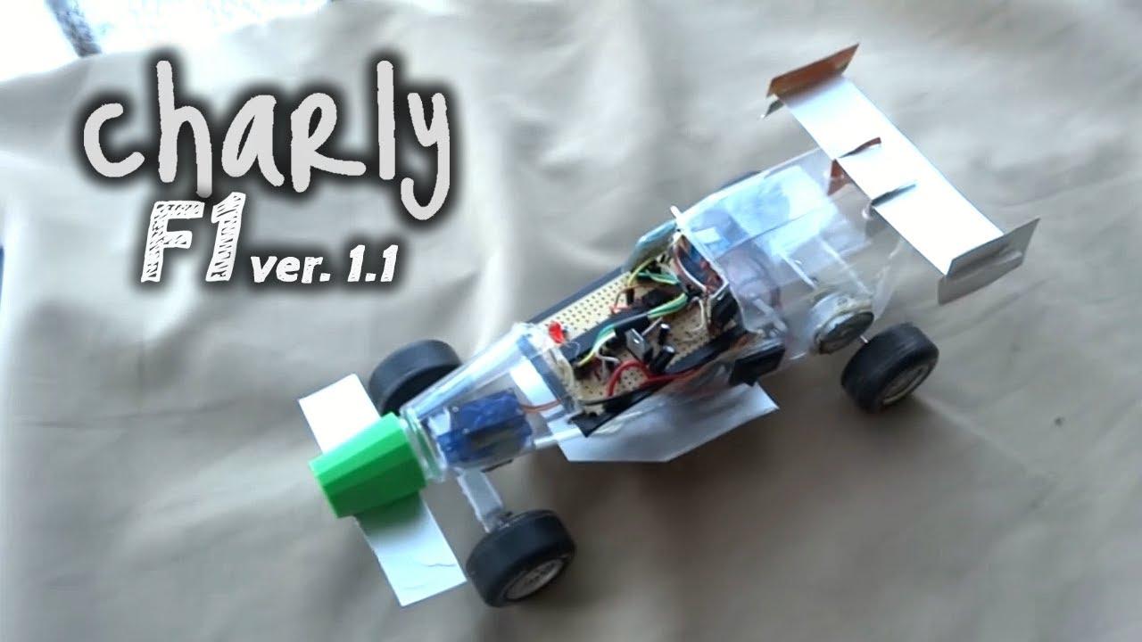 Charly F1 Versi 243 N1 1 Auto A Control Remoto Con Arduino